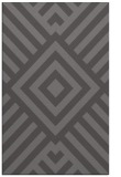 rug #1225187 |  brown stripes rug