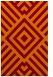 rug #1225243    orange stripes rug