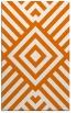 rug #1225247 |  orange graphic rug