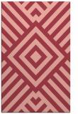 rug #1225267 |  pink graphic rug