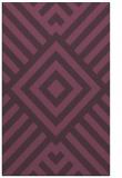 rug #1225275 |  purple graphic rug