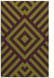 rug #1225279 |  purple stripes rug