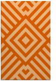 rug #1225311 |  red-orange graphic rug