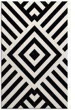 rug #1225323 |  black stripes rug