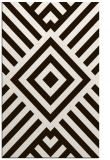rug #1225335 |  brown graphic rug