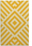 rug #1225351 |  yellow stripes rug