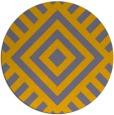 rug #1225573 | round stripes rug