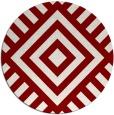 rug #1225617 | round stripes rug