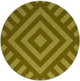 rug #1225739 | round light-green rug