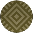 rug #1225751 | round light-green graphic rug