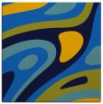 rug #1227547 | square blue abstract rug