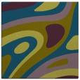 rug #1227591 | square blue-green abstract rug