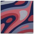 rug #1227607 | square blue-violet retro rug