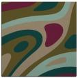 rug #1227627 | square brown rug