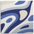 rug #1227815 | square blue abstract rug