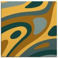 rug #1227847 | square yellow abstract rug