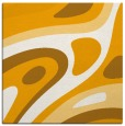 rug #1227871 | square light-orange graphic rug