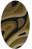 rug #1227904 | oval abstract rug