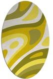 rug #1228179 | oval white rug