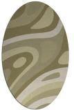 rug #1228227   oval light-green abstract rug
