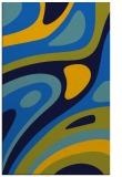 rug #1228283    blue retro rug