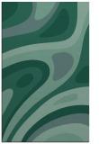 rug #1228307 |  blue-green retro rug