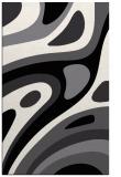 rug #1228543 |  black abstract rug