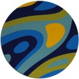rug #1228654 | round abstract rug