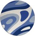 rug #1228667 | round retro rug