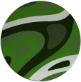 rug #1228763 | round green abstract rug