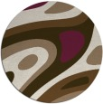 rug #1228782 | round abstract rug