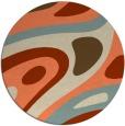 rug #1228839 | round beige popular rug