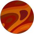 rug #1228883 | round red retro rug