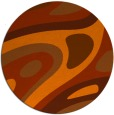 rug #1228895 | round red-orange abstract rug
