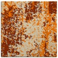 rug #1271675   square orange abstract rug