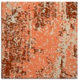 rug #1271895 | square orange abstract rug