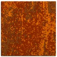 rug #1271951 | square red-orange abstract rug