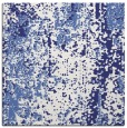 rug #1271975 | square blue abstract rug