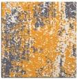 rug #1272039 | square light-orange abstract rug