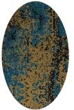 rug #1272072 | oval abstract rug