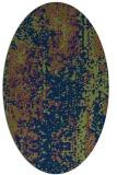 rug #1272087 | oval abstract rug