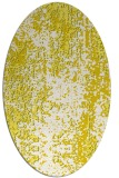 rug #1272339 | oval white abstract rug