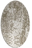 rug #1272359 | oval white abstract rug