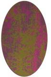 rug #1272391   oval light-green abstract rug