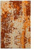 rug #1272411 |  orange abstract rug