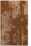 rug #1272563 |  mid-brown abstract rug
