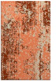 rug #1272631 |  orange abstract rug