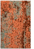 rug #1272635 |  red-orange abstract rug