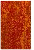 rug #1272675 |  orange abstract rug