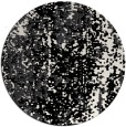 rug #1272783 | round white abstract rug